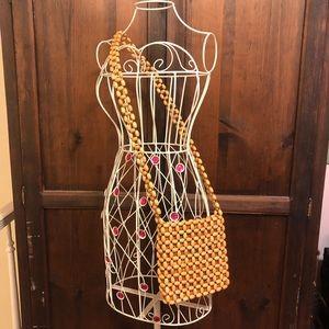 The Sak Beaded Boho Crossbody Handbag
